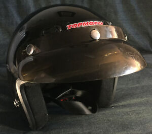 Onyx Dot open face helmet.
