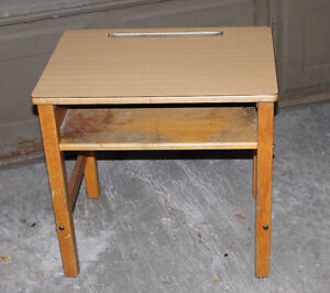 Vintage Childs School Desk