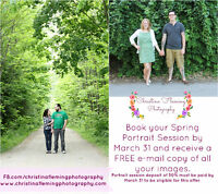 Spring Portrait Session (with bonus freebie!)