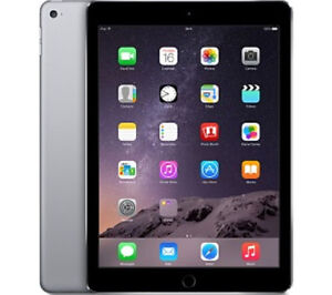 Apple Care iPad Air 2 -( Cellular -Wi Fi ) Space Gray- 16GB=$350 Kitchener / Waterloo Kitchener Area image 1