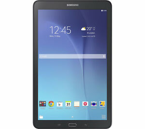 "Open Box Samsung Galaxy Tab E 9.6"" / 16GB Black Android Tablet"