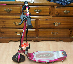 Razor e100 pink Motorized scooter