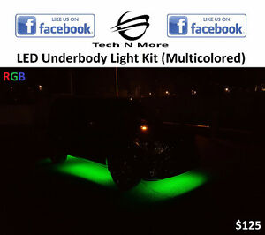 LED Underbody Light Kit (Multicolored)