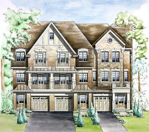 LUXURY  FREEHOLD TOWNHOMES near Oakville Hospital from $680,000