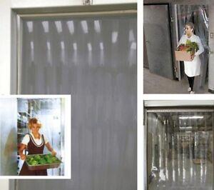 ★★★★★TRANSPARENT VINYL STRIPS COLD-BARRIER CURTAINS & DOORS★★★★★ West Island Greater Montréal image 2