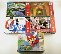 N64 BOXES WITH INSTRUCTIONS