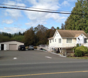 COMMERCIAL/ RESIDENTIAL ON VANCOUVER ISLAND