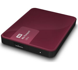 Disque Dur USB WD Passport 4TB USB3