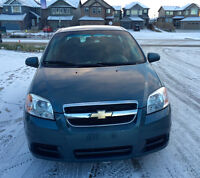 2009 Chevrolet Aveo Sedan with Winter Tires,Low KM,No Accident