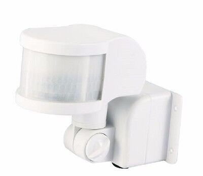 Lifcobuy® Bewegungsmelder weiß 220° Außen, IR max.12m, 1 -1200Watt , 10sec-8min