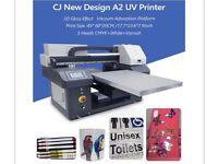UV A2 Size Professional Laser Printer For Sale