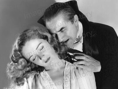 8x10 Print Bela Lugosi Nina Foch Return of the Vampire 1943 #BLNF