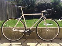 All City Big Block Ltd Ed Custom Top Spec! Single Speed Track Bike MINT!