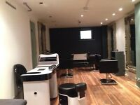 Hair salon business with full fixture and fittings for sale/lease