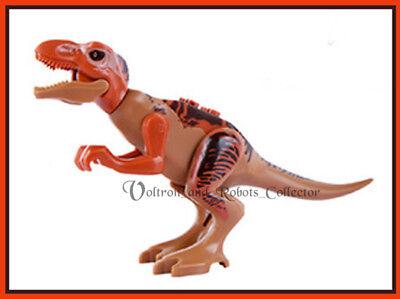Jurassic World T Rex Minifigure Dinosaur For Lego Figure Tyrannosaurus Indominus