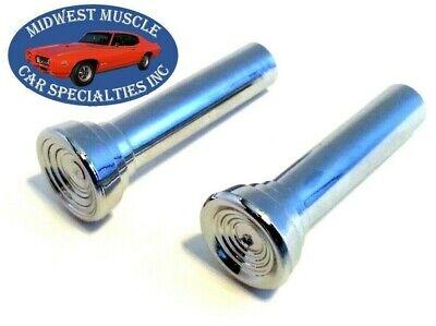 Impala Door Latch - GM Chevelle GTO 442 Impala Interior Door Panel Lock Latch Push Pull Knob 2pcs A