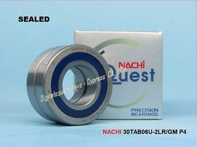 Nachi 30tab06u-2lrgm P4-abec7 Sealed Ball Screw Bearings. Matched Set Of 2