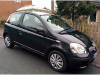 Toyota Yaris in Metallic Black - 65MPG & lady owner past 5 years - Great little car!