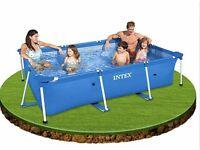 Brand new intex 3m x 2m swimming pool