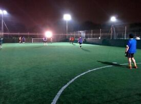 Friendly week night footy in Barnes. All welcome to join!