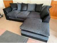 SALE 49% OFF ON ALL BRAND NEW BYRON CHENILLE FABRIC FABRIC CORNER & 3+2 SEATER SOFA