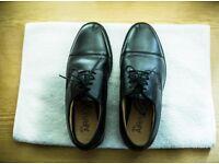 M&S COLLECTION Black Men's Leather Shoes Size 10