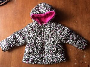 Toddler Girl Fall/Winter Coat and Size 5 Winter Boots