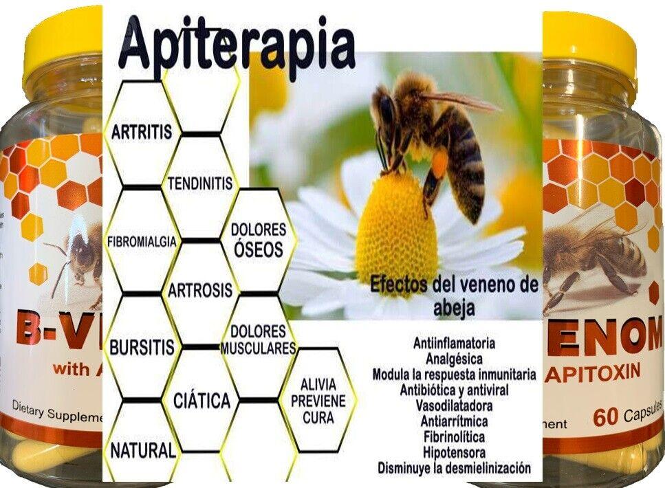 2 Bio Bee Therapy Venom Extract anti-inflammatory Miracle Arthritis Pain Cure 4