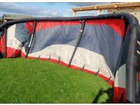Flexifoil Ion3 10.5m Kite, with Flexifoil Bar & Lines & Kite Bag, Kitesurfing Bargain!