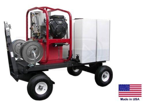 PRESSURE WASHER Commercial - Hot, Cold & Steam - 3.5 GPM - 4000 PSI - ATV/UTV