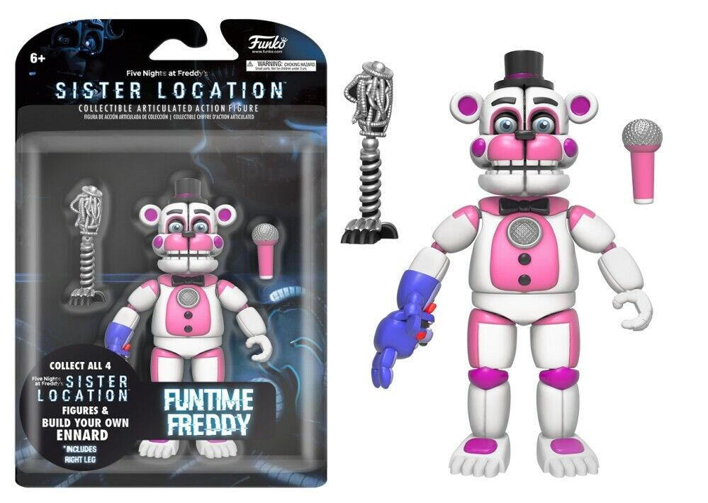 Funko Five Nights Fun Time Freddy Articulated Action Figure,