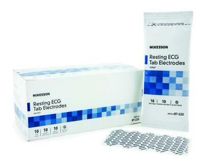 Buy Now Mckesson Resting Ecg Tab Electrodes Non-radiolucent Pk100 87-220