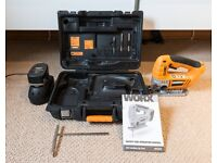 Work 18V Cordless Jig Saw - barely used.