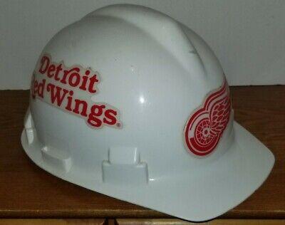Nfl Detroit Red Wings Construction Safety Helmet Hard Hat Adjustable