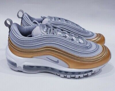 Vast Grey/Met Gold/Met Silver Wmns Nike Air Max 97. UK 4.5, US 7, EUR 38