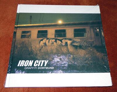 """Graffiti Buch / Magazine """"IRON CITY"""" Dortmund Montana Molotow Walls Trains Tags"""