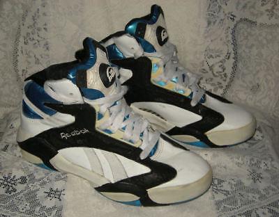 aaf127551cc8 amazing reebok pump shoes shaq brand rare nba orlando magic colors ...