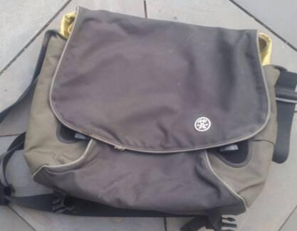 "Laptop computer bag by Crumpler, ""the cashmere blazer"""