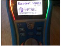 METREL MI 3125 EUROTEST COMBO Electrical Multi Tester