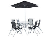 HOME Pacific 6 Seater Patio Furniture Set