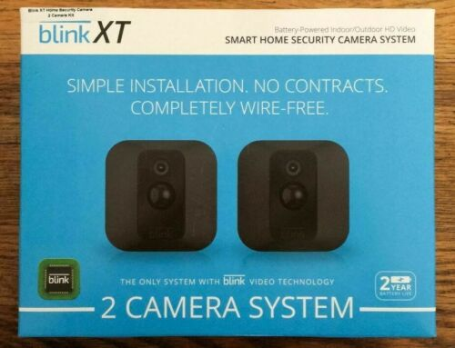 Blink XT 2-Camera Kit Home Security Camera System -  1st Generation
