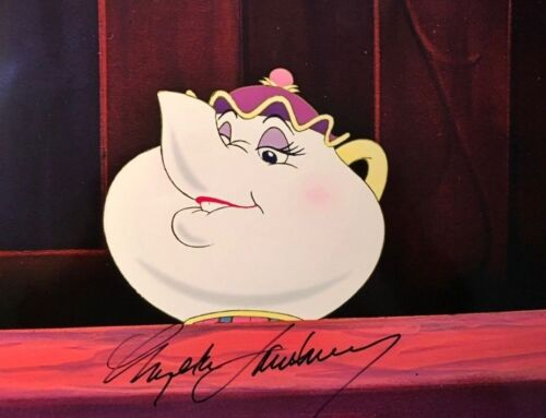 Angela Lansbury Beauty and the Beast signed autographed 8x10 photo