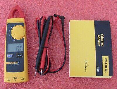 Fluke 362 Acdc Digital Clamp Meter F362 Multimeter 600v Ohm Us Seller
