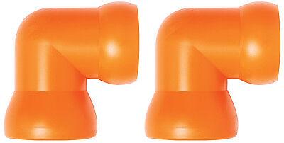 2 34 90 Elbow Fittings Loc-line Usa Original Modular Hose System 61515