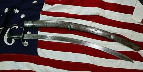WAR OF 1812 WILLIAM ROSE M 1812 CONTRACT CAVALRY SWORD 500 MADE OWNED BY BEZDEK