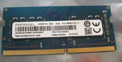 Ramaxel 8GB DDR4 PC4-21300 SODIMM 2666MHz Laptop Memory RAM 8G NEW dell HP