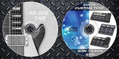 1.000 Patches ZOOM G5n-G3n-G3Xn Presets. Multi Effects & 48.328 Guitar Tab Music Zoom Guitar Patches