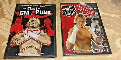 2 Lot CM Punk Before They Were Wrestling Stars/The Best of CM Punk, Full Impact (The Best Of Cm Punk)