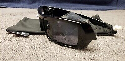 Original Oakley Gascan Polished Black Frames with Grey Lens NO BOX for sale  Shipping to India