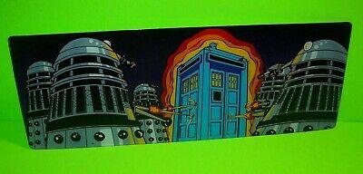 Doctor Who Daleks & Tardis Pinball Machine Large Promo Plastic Bally NOS 1992